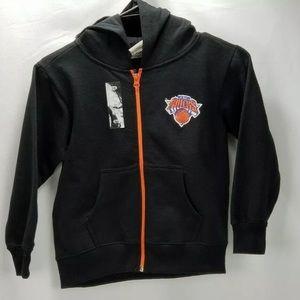 New York Knicks NBA U Boys Jacket Youth Size 5/6